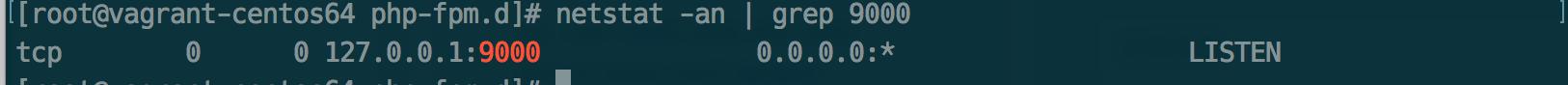 查看php-fpm 监听端口