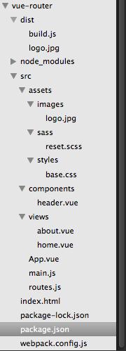 vue-router 代码结构